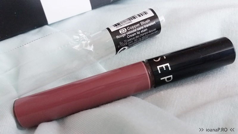 Sephora Cream Lip Stain 23 Copper Blush foto2