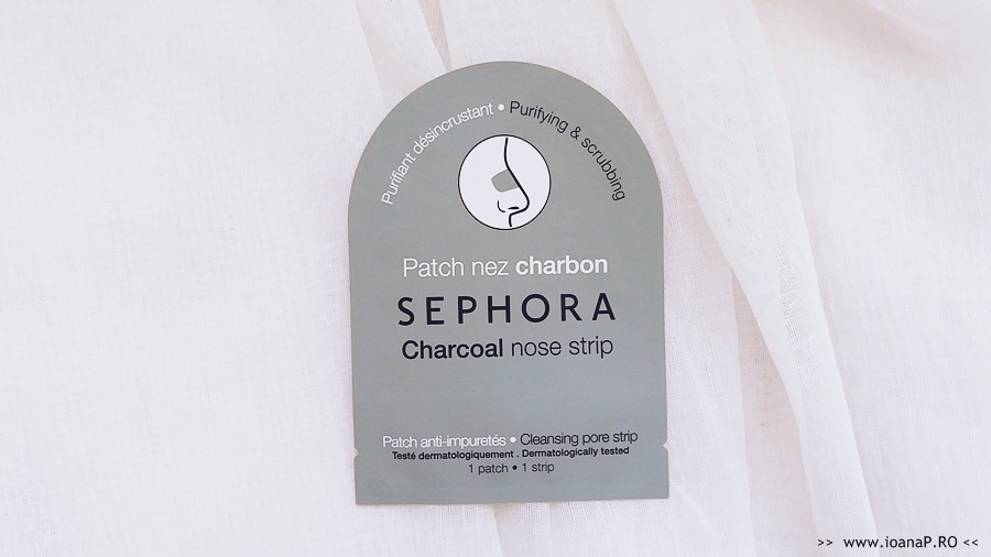 plasture pentru îndepărtarea punctelor negre Sephora review foto1