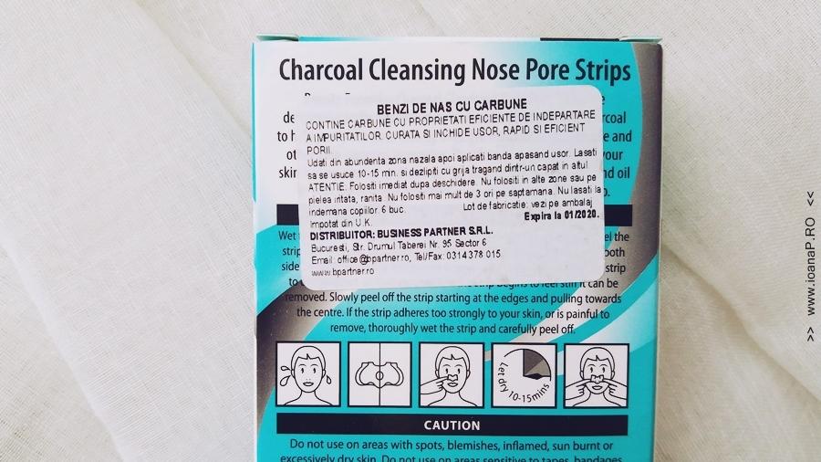plasturi pentru indepartarea punctelor negre de pe nas Beauty Formulas foto1