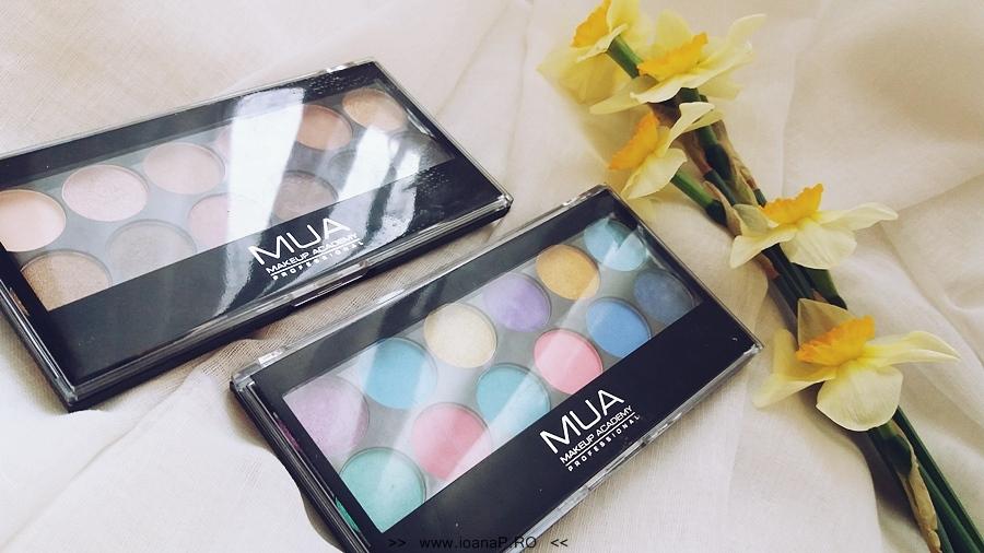 11 Makeup Academy MUA paleta 12 farduri Undressed and Poptastic