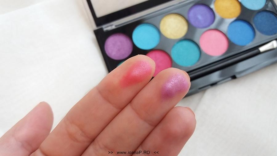 15 Makeup Academy MUA paleta 12 farduri Poptastic