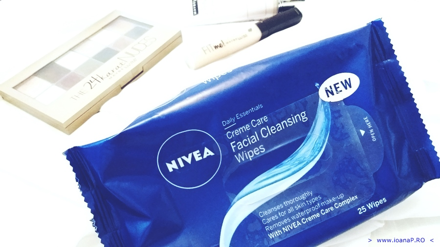 servetelele demachiante Nivea Creme Care