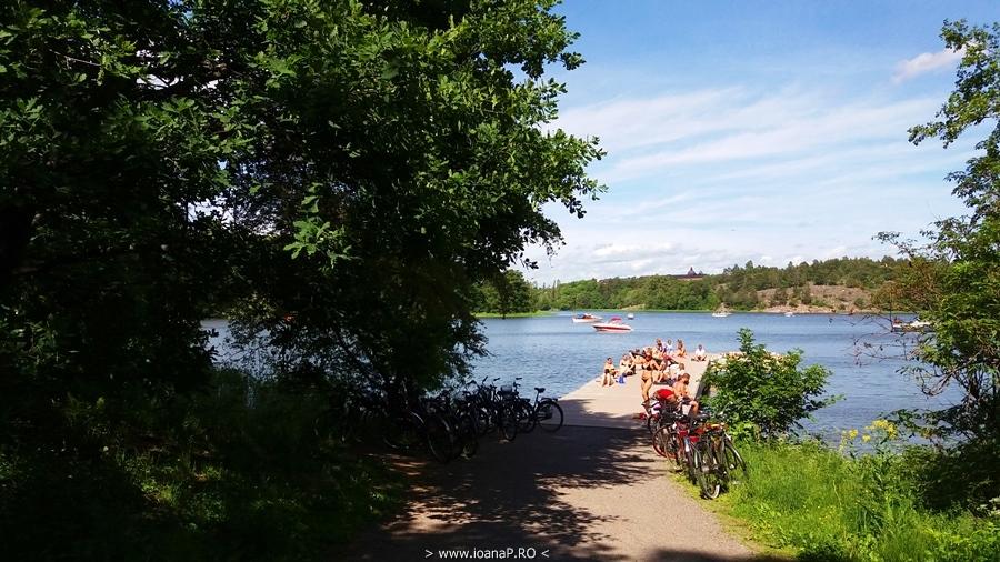 Haga Park Brunnsviken Lake