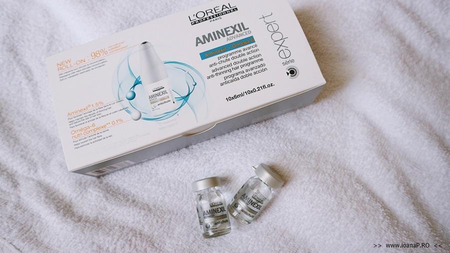 Tratament impotriva caderii parului L'Oreal Professionnel Serie Expert Aminexil Control 10 fiole