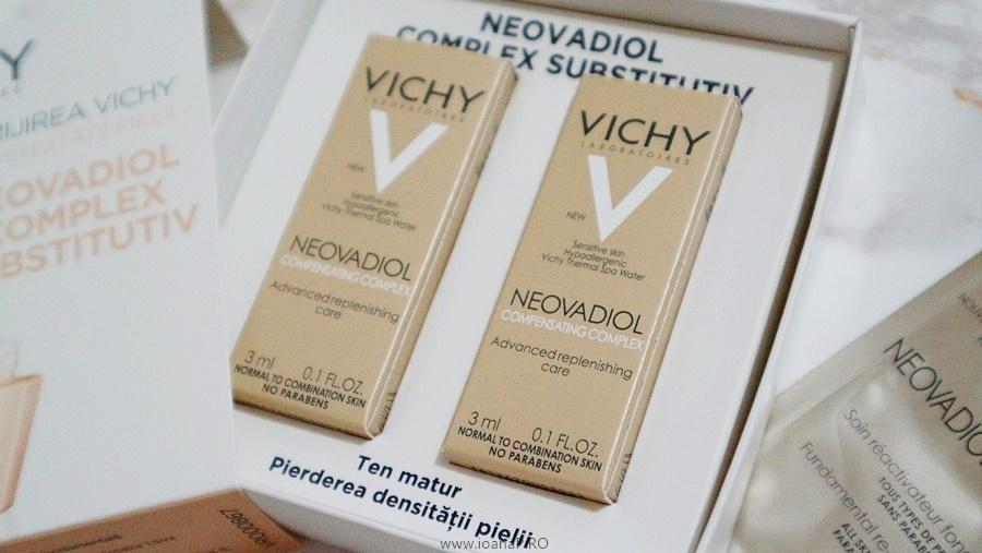 kit Vichy NEOVADIOL COMPLEX SUBSTITUTIV - pentru ten matur, pierderea densității pielii foto2