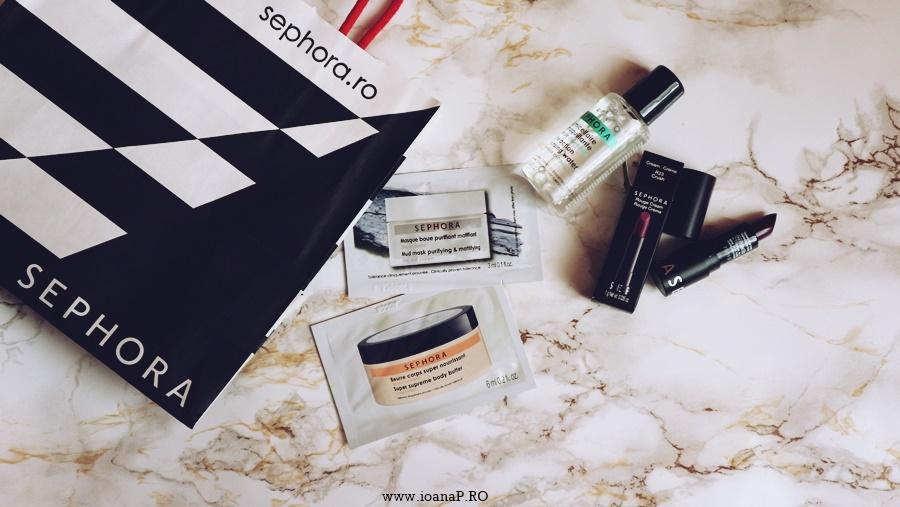 mostre si mini produse Sephora