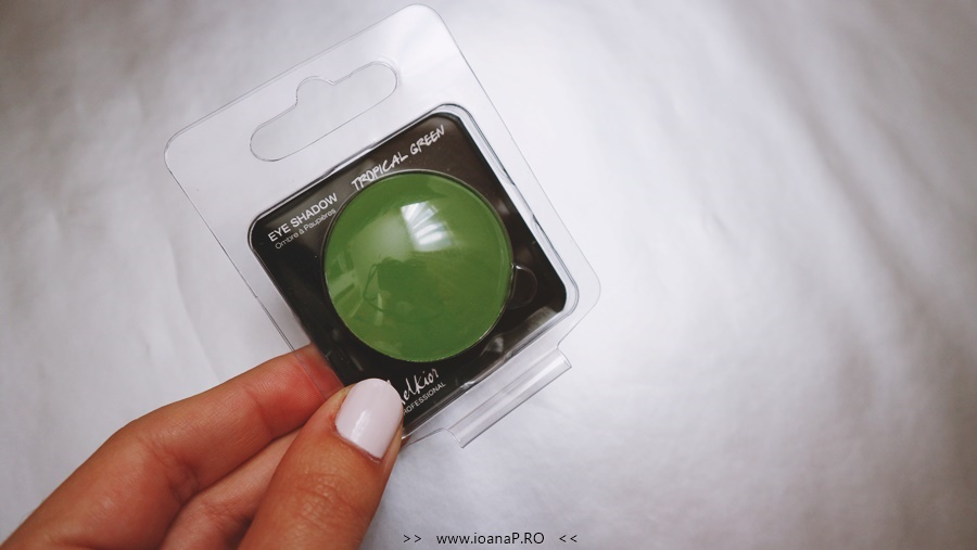 fard verde mat Tropical Green Melkior Professional foto1
