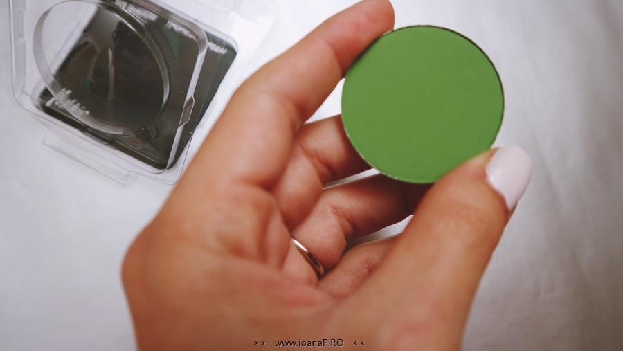 fard verde mat Tropical Green Melkior Professional foto3