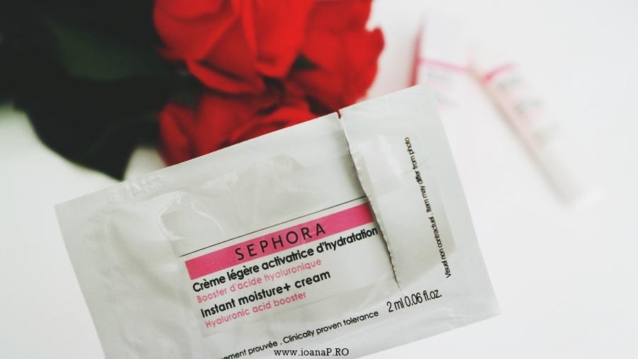 Sephora mostra crema de fata Instant moisture+ cream Hyaluronic acid booster