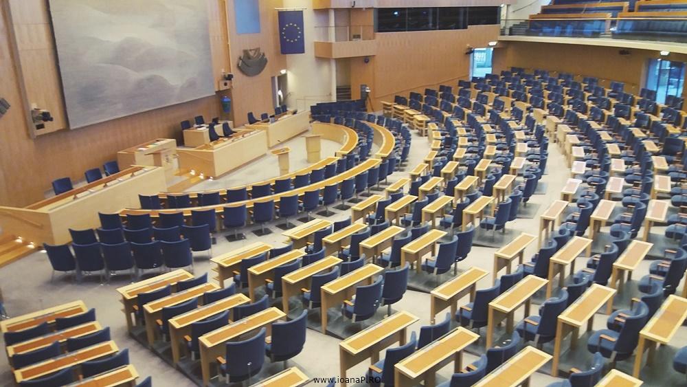 Parlamentul Suediei - Sveriges Riksdag - The Chamber