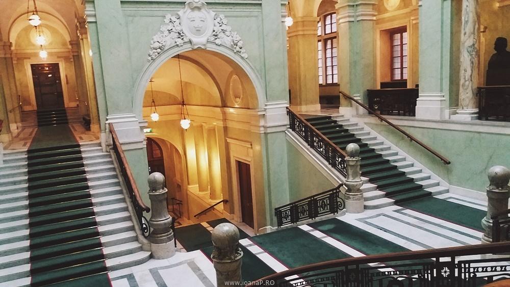 Parlamentul Suediei - Sveriges Riksdag - The Grand Stairway