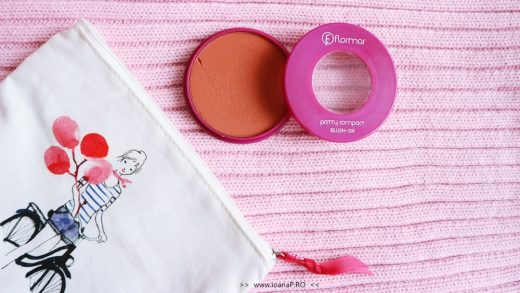 Flormar pretty compact blush-on coral review