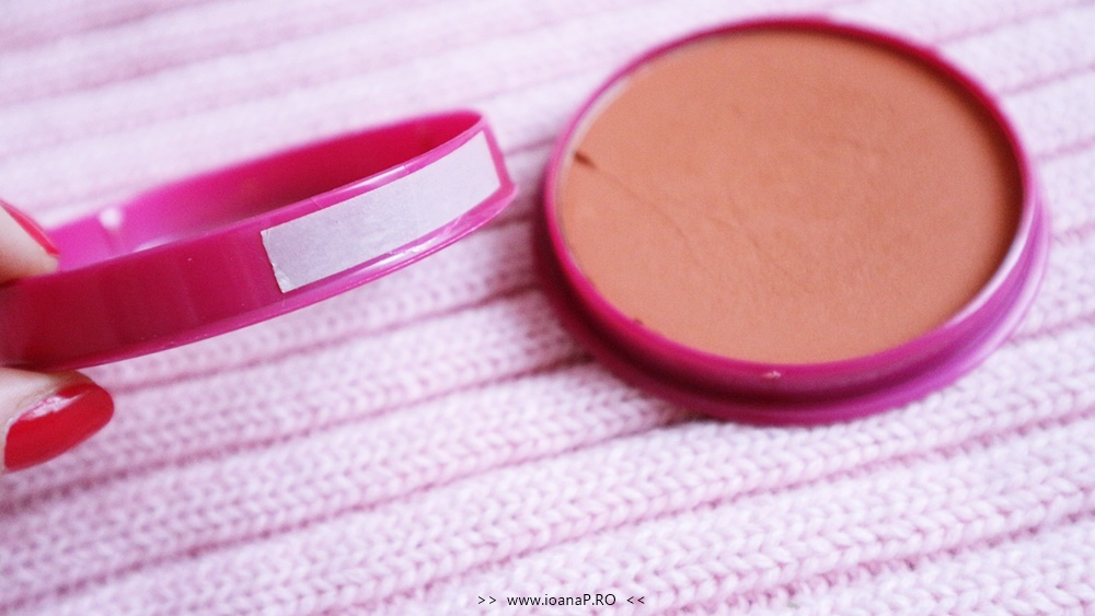 Flormar pretty compact blush-on coral review foto4