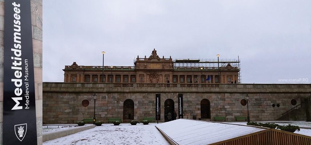 Medeltidsmuseet Muzeul Medieval din Stockholm Suedia