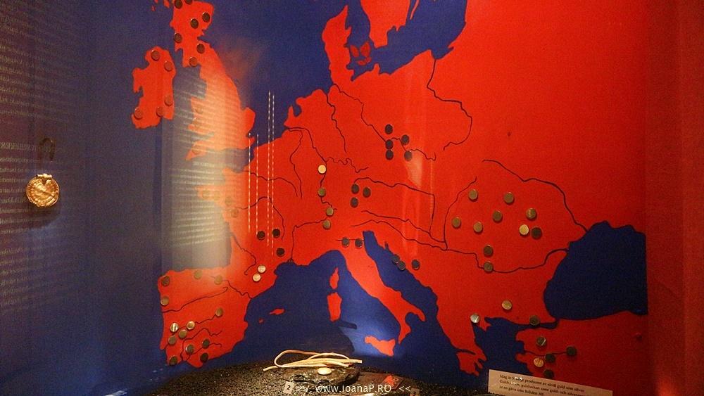 Muzeul de Istorie din Suedia Historiska Museet Guldrummet The Gold Room foto4