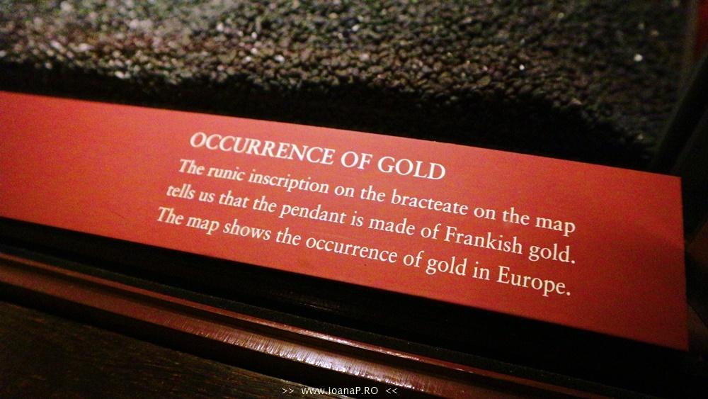 Muzeul de Istorie din Suedia Historiska Museet Guldrummet The Gold Room foto5