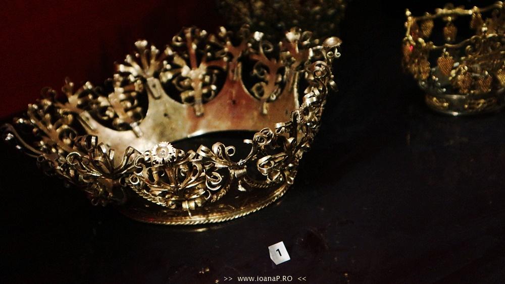 Muzeul de Istorie din Suedia [Historiska Museet] Guldrummet The Gold Room silver crown foto7