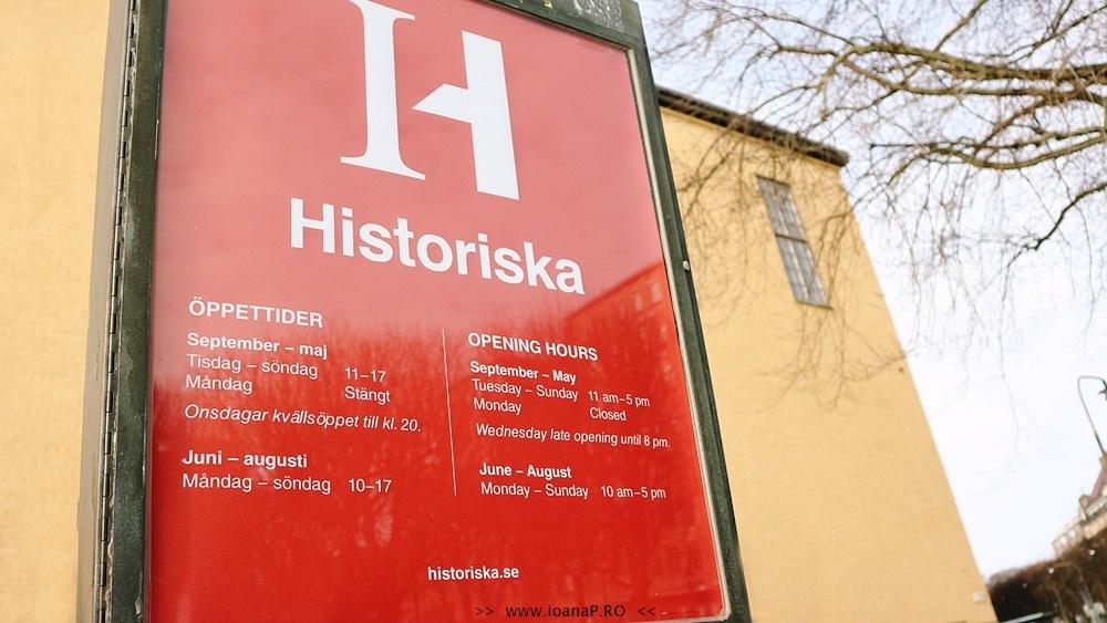Muzeul de Istorie din Suedia - Swedish History Museum - Historiska Museet - open hours