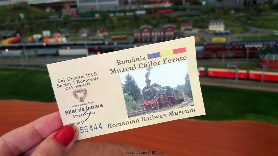 bilet Muzeul CFR din Bucuresti