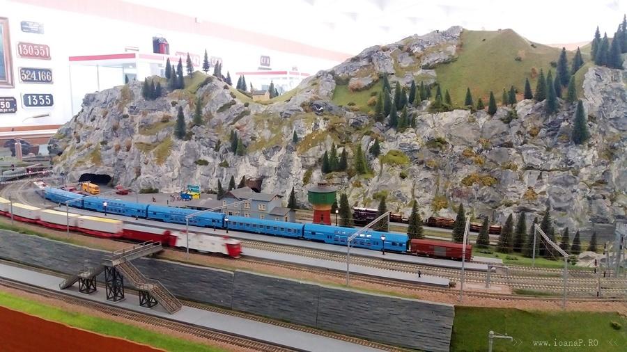 diorama Muzeul CFR din Bucuresti foto1