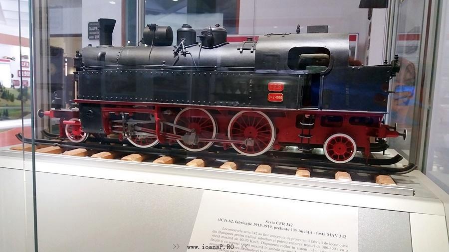 locomotiva Muzeul CFR din Bucuresti