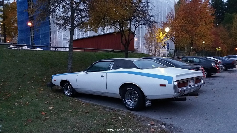 Dodge Charger 1972 (back)