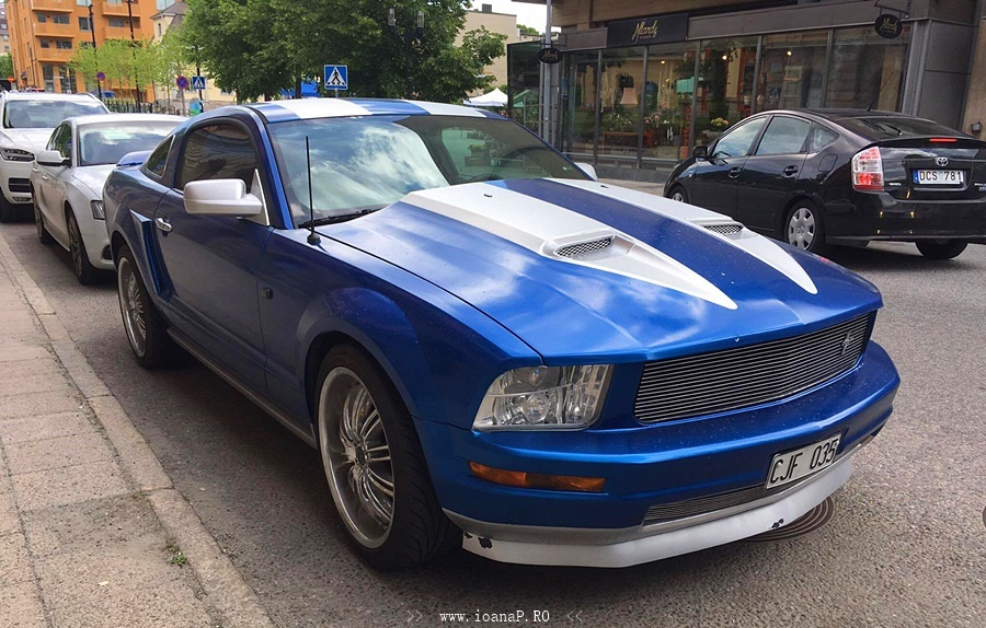 Ford Shelby Mustang (front)