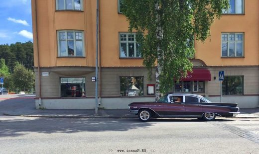 old car in Sweden
