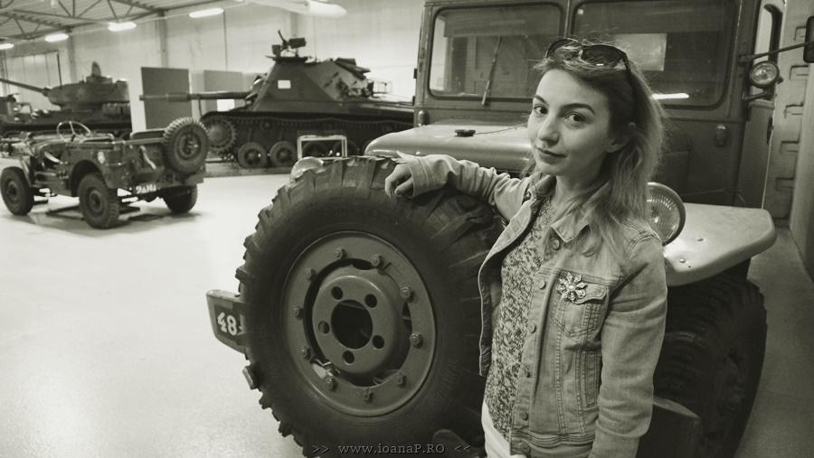 Ioana Radu @ Swedish Tank Museum