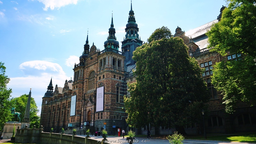 Nordiska Museet din Stockholm Suedia foto01