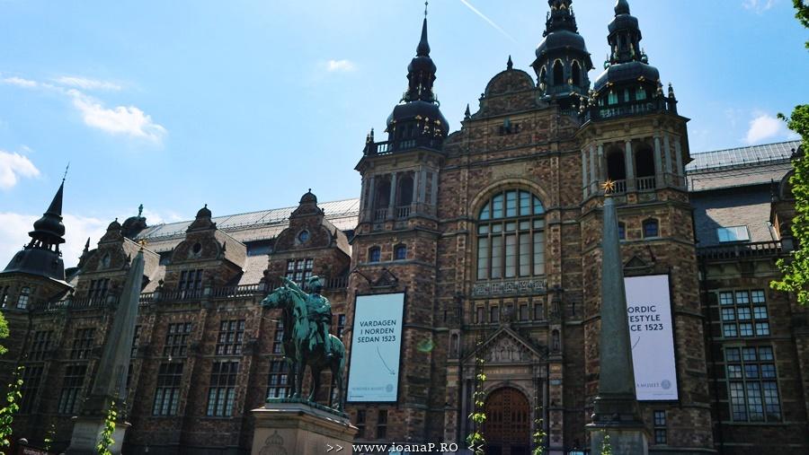 Nordiska Museet din Stockholm Suedia foto02