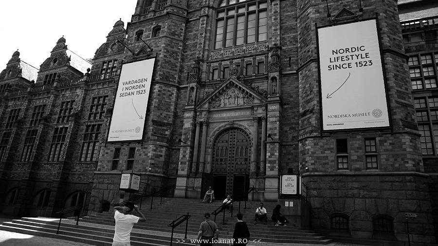 Nordiska Museet din Stockholm Suedia foto04