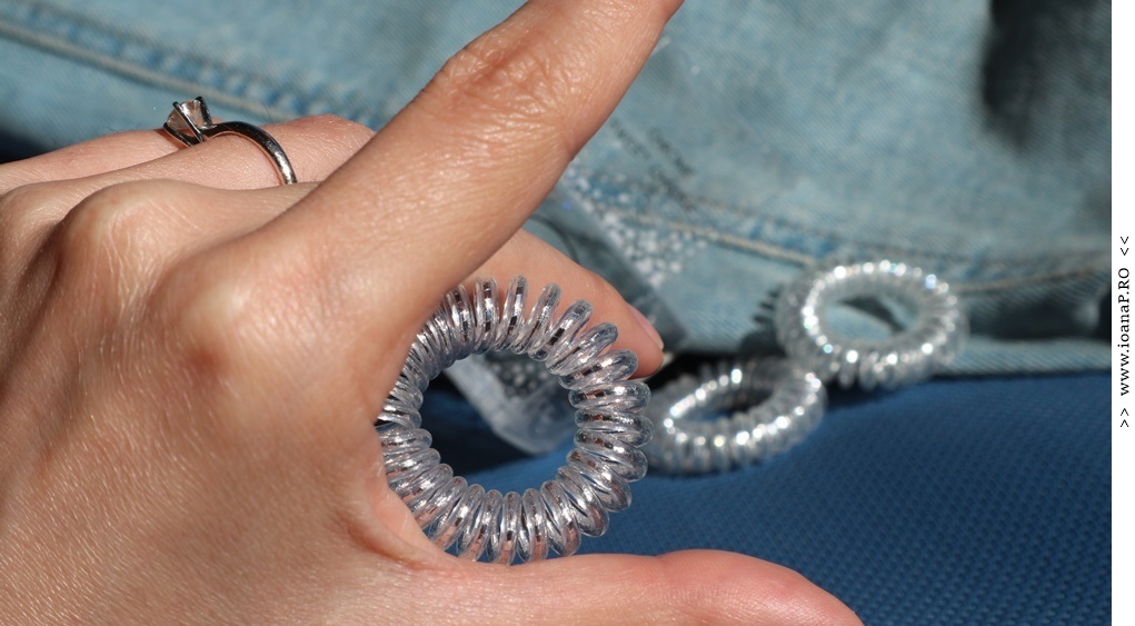 3 traceless hair rings Invisibobble Original Chrome Sweet Chrome foto06