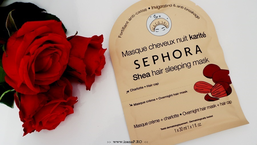 Masca pentru par cu unt de shea de la Sephora