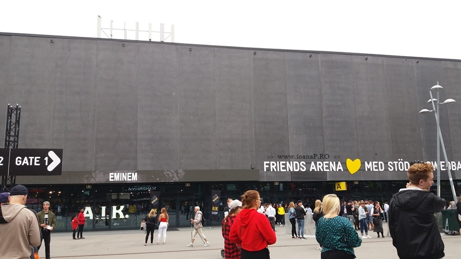 Eminem in Sweden Solna Friends Arena