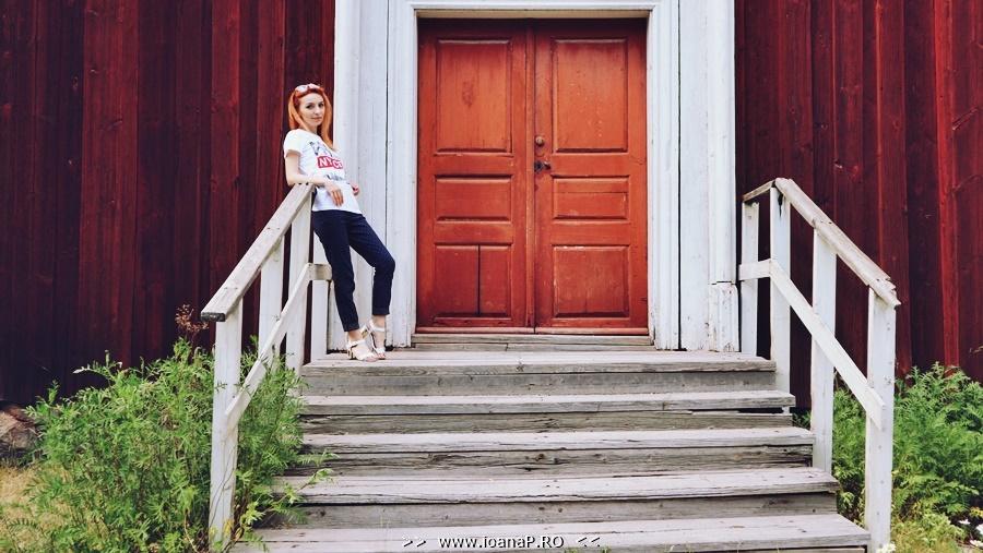 Ioana Radu at Skansen open air museum