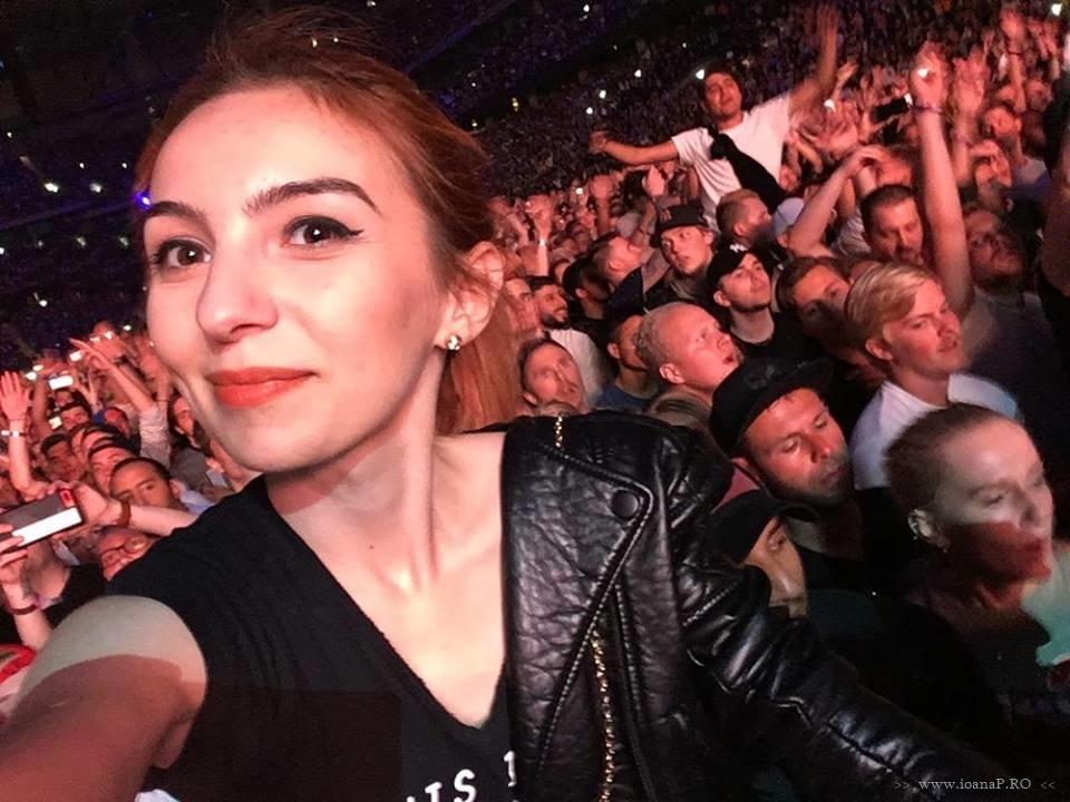 Ioana Radu concert Eminem in Suedia