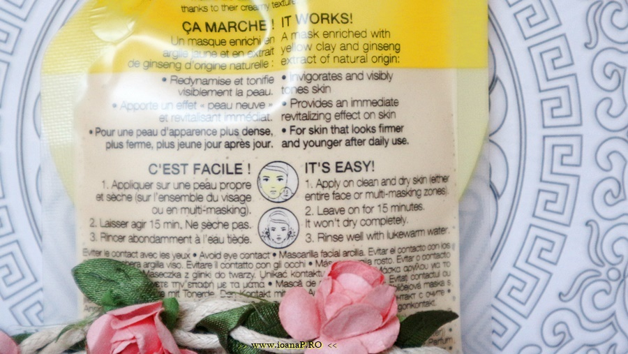 Sephora Yellow Clay Mask info
