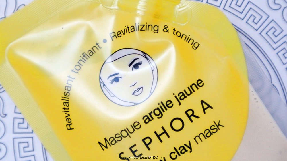 Sephora Yellow Clay Mask review