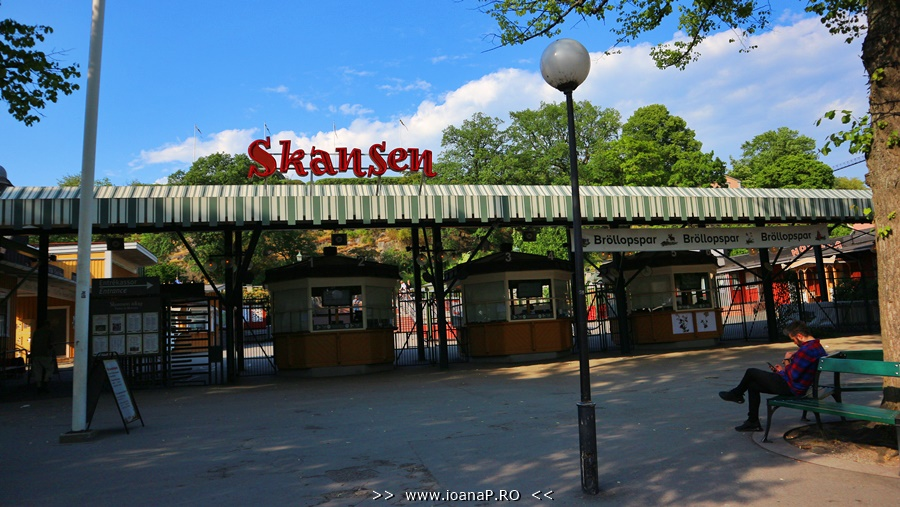 Skansen main entrance