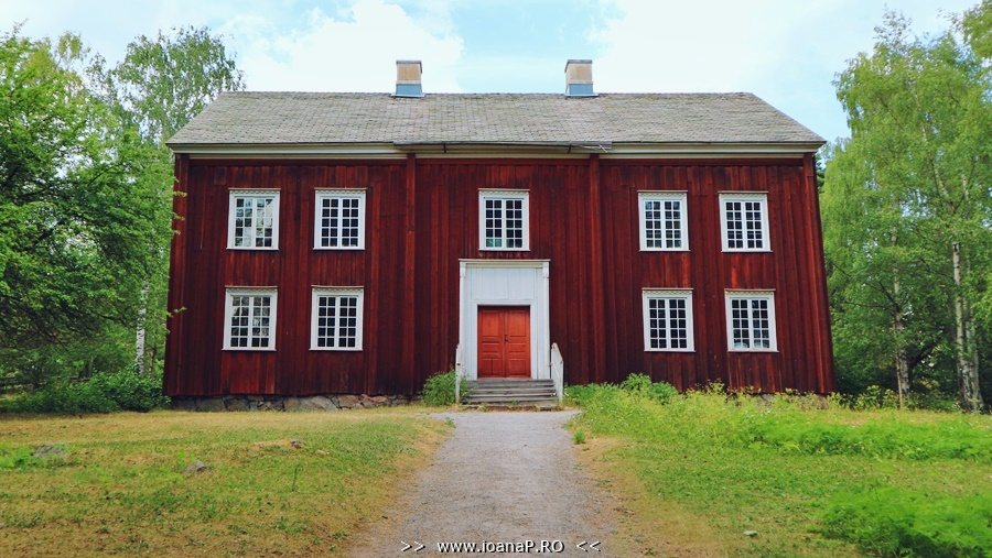 Skansen museum scandinavian old mansion