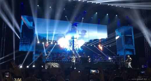 concert Eminem in Sweden july 2018