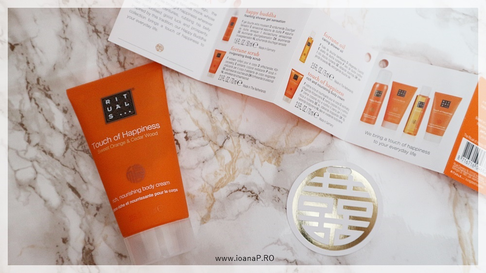 crema de corp Touch of Happiness by RITUALS - Ritual of Happy Buddha