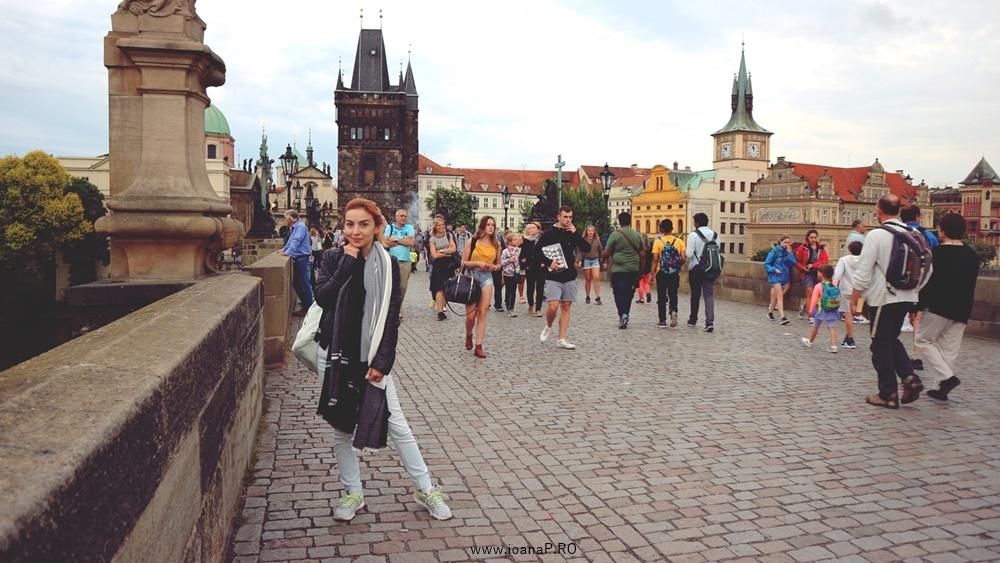 Charles bridge from Prague Ioana Radu