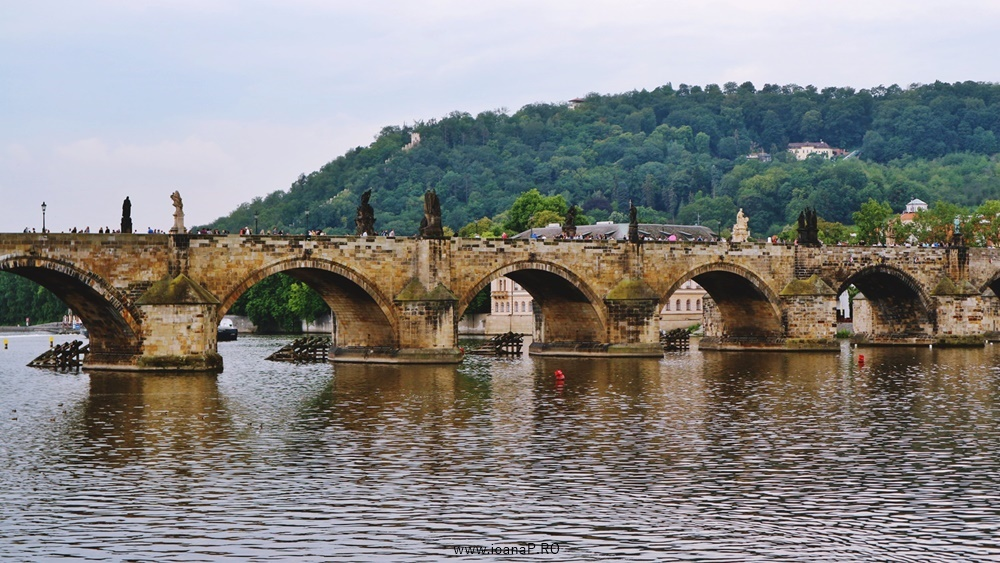 Charles bridge from Prague foto2