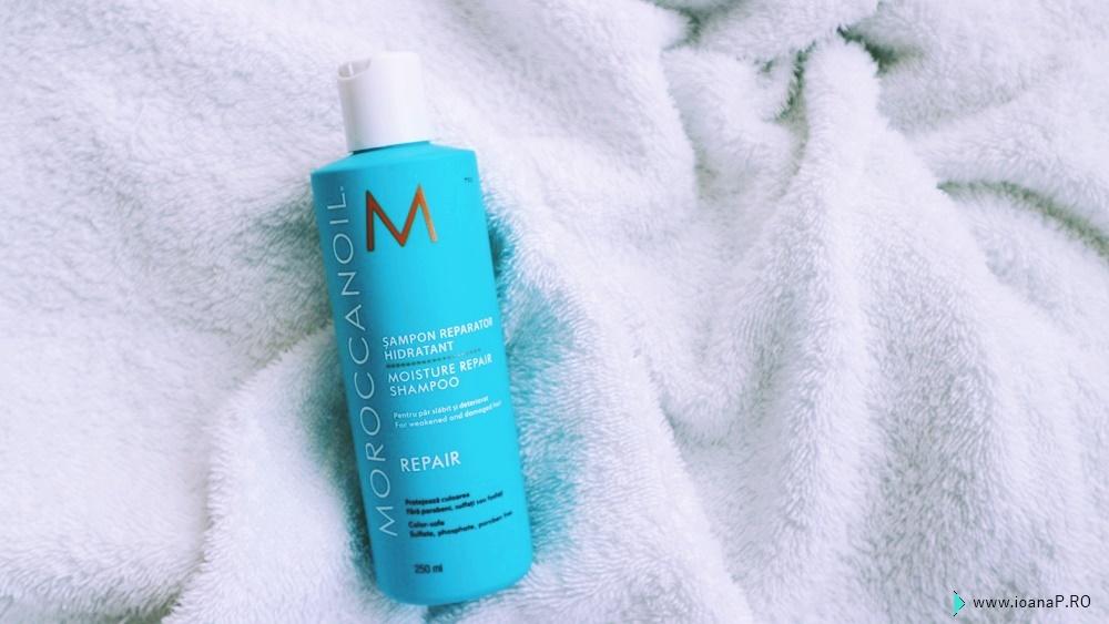 pareri despre șamponul Moroccanoil Moisture Repair