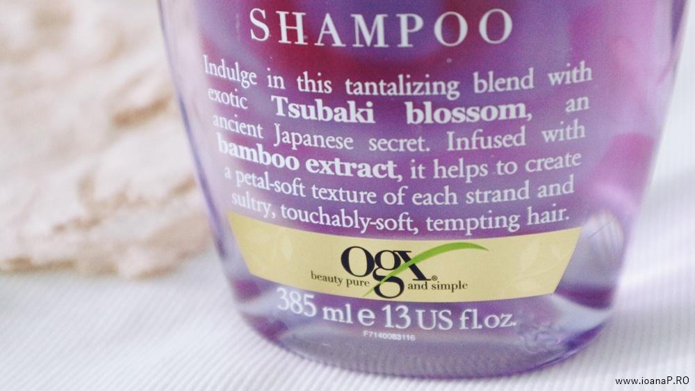 OGX Sensually Soft Tsubaki Blossom shampoo