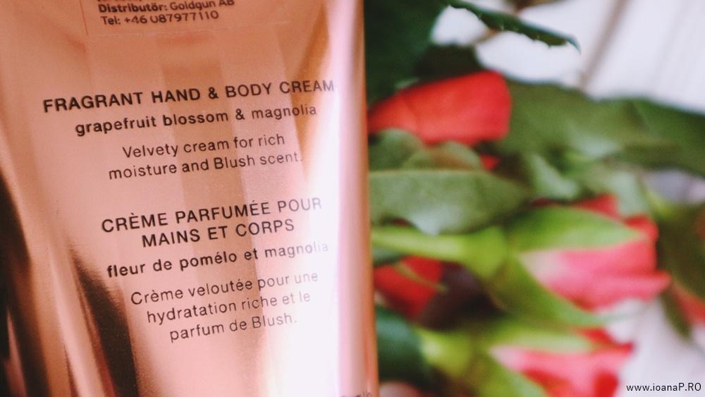 crema de corp Blush de la Victoria's Secret foto08