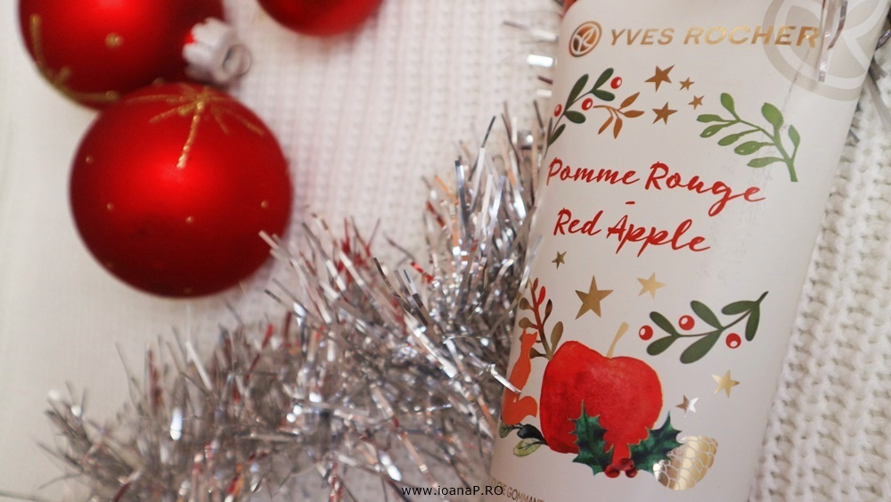gel de dus exfoliant Red Apple Yves Rocher