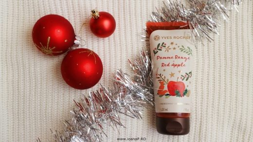 gelul de dus exfoliant Red Apple de la Yves Rocher